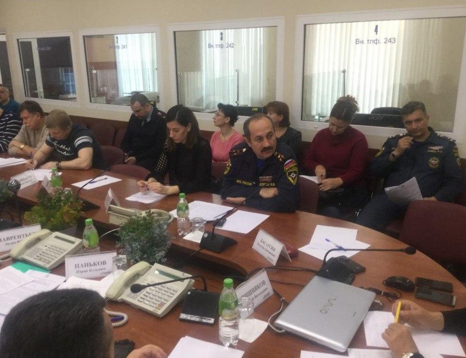 Статья о прошедшем заседании краевой комиссии по ЧС в Приморском крае.