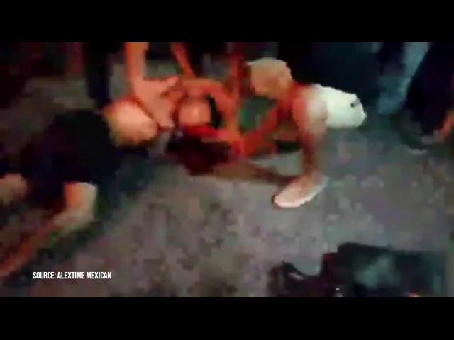 Линчевание Алексея Макеева Makeev Alextime в Мексике 19 05 17 рвут в клочья русского шизоф