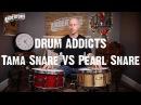 Drum Addicts Snare Vs Snare Pearl Maple 1 piece Tama Maple