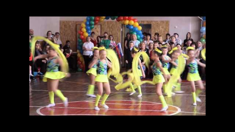 Ритмическая гимнастика в детском саду