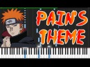 Naruto Shippūden -  Pains (Piano Tutorial Synthesia)