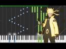 Naruto Shippuden Opening 16 - Silhouette  Piano Tutorial Synthesia