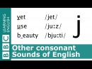 Say yet, use and beauty. Other Consonants. Pronunciation Tips. [j]