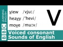 Say view, heavy and move. Voiced Consonants. Pronunciation Tips. [v]