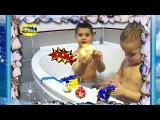 Игры с Пеной,Игры в Ванной,Видео для Детей,ПОДПИСЫВАЙТЕСЬ на НАШ канал