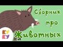 КУКУТИКИ - Сборник из 5 песенок Про Животных