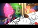 Короткое замыкание - Раскраска с Фиксиками - Мультик раскраска - Учим цвета