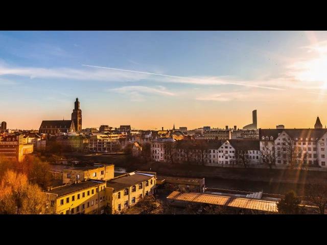 Wschód słońca nad Wrocławiem - timelapse 4K