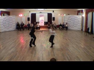 HDFest2016 3-й день DnD StCh Fast 1 место Виталий Ермаков - Евгения Нижнева