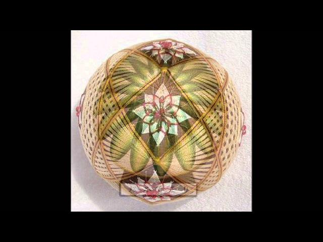 Temari - embroidery on the balls/Темари - вышивка на шарах
