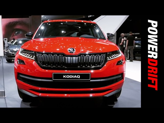 Skoda Kodiaq : Geneva Motor Show : PowerDrift