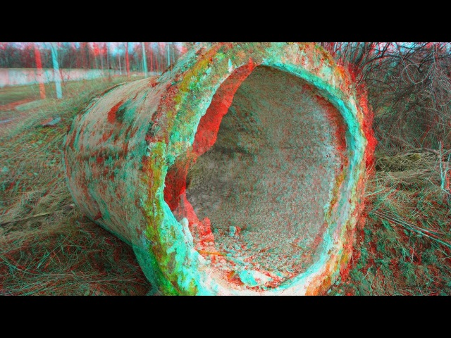 Life After People 3D ! SURROUNDINGS OF THE HOUSE ! 10 years after people ! 3D VIDEO