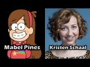 Characters and Voice Actors - Gravity Falls (Complete Edition)