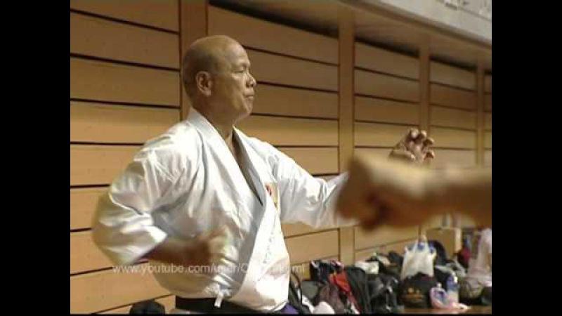 Kiyohide Shinjo. Uechi-ryu karate D'OKINAWA.