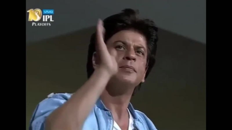 Shah Rukh Khan at Bengaluru Stadium SRH v KKR match 3.