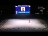 Арина Аверина, булавы (квалификация)\\Кубок Мира, Баку
