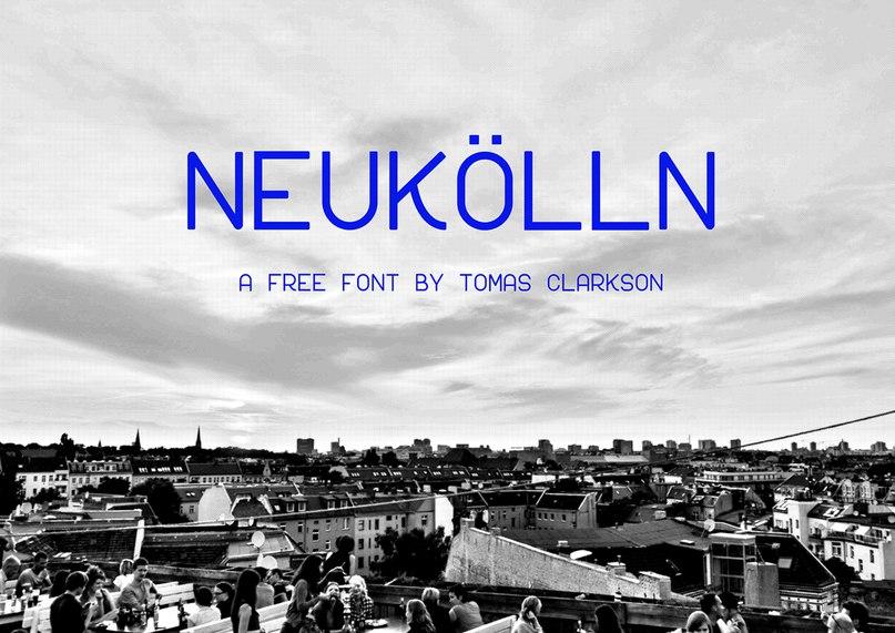 Download Neukolln font (typeface)