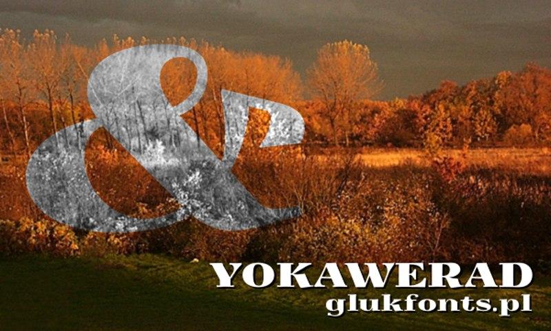 Шрифт Yokawerad