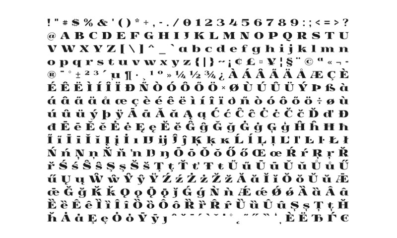 Download Yokawerad font (typeface)