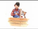 Mulle Meck bygger en b