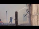 Горят свалки отходов лесопиления. Канск 23.04.2017
