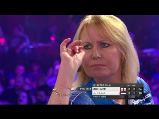 Trina Gulliver vs Aileen de Graaf (BDO World Darts Championship 2017 / Quarter Final)