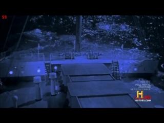 Titanic new sinking theory (History Channel simulation)
