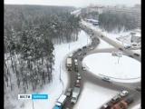 Воронеж в ожидании больших пробок – дорожники приступили к реконструкции крупной развязки
