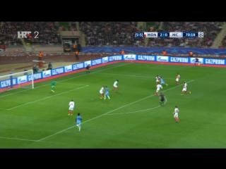 Monaco - Manchester City 3-1, T. Sane (2-1, 71), 15.03.2017. HD