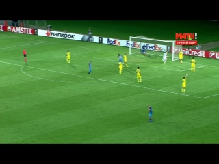 Футбол. Лига Европы. Группа D. 1-й тур. Маккаби - Зенит 3:1 76' Александр Кокорин