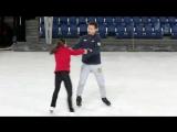 Ледниковый период   Подготовка к выступлению Марии Петровой и Алексея Серова   Третий этап