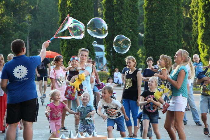 В этом году проект «Лето в парках» будет продолжен!