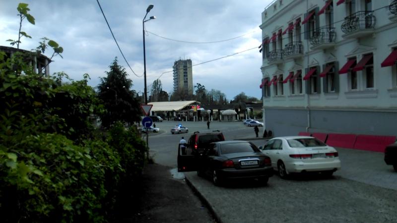 А вот и дядя Сережа за мной, в Абхазию, подтянулся.