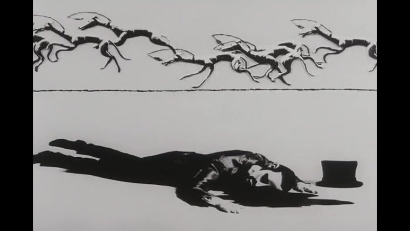 犬儒戯画 - Kenju Giga - Anthropo-Cynical Farce 1970