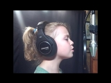 Hurt-Christina Aguilera Cover sung by Noelle (9 лет) (HD)
