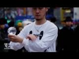 Потрясный танцер жонглирует на улицах Японии