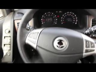 2013 Санг Йонг Актион Premium. Обзор (интерьер, экстерьер, двигатель).