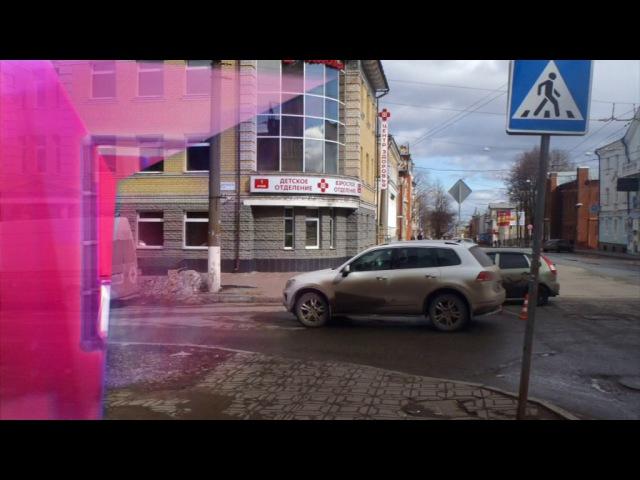 Обзор аварий. ДТП Приора сбила пешехода Октябрьский проспект. Место происшестви...