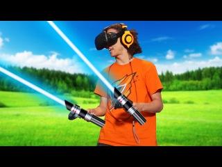 STAR WARS IN VIRTUAL REALITY! (HTC VIVE)