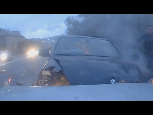Авто аварии (лобовые столкновения) , Car accident (head-on collisions) 2016