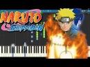 Naruto - Kodoku Piano Tutorial Synthesia