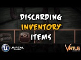 Discarding Inventory Items - #16 Creating A Survival Horror (Unreal Engine 4)