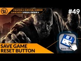 Reset Save Game Button - #49 Creating A Survival Horror (Unreal Engine 4)