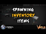 Spawning Inventory Items After Discard- #17 Creating A Survival Horror (Unreal Engine 4)