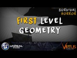 Creating Our First Level Terrain &amp Geometry - #21 Creating A Survival Horror (Unreal Engine 4)