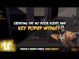 No Door Key Popup - #37 Creating A Survival Horror (Unreal Engine 4)