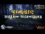 Realistic Terrain Sculpting - #24 Creating A Survival Horror (Unreal Engine 4)