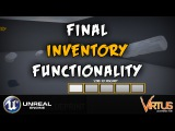 Finishing Inventory Functionality- #18 Creating A Survival Horror (Unreal Engine 4)