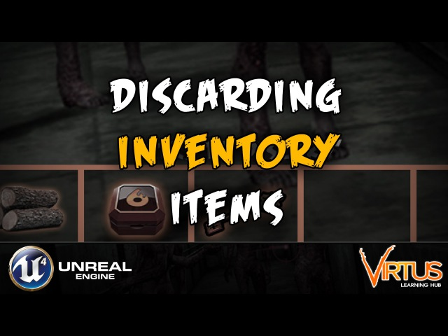 Discarding Inventory Items - 16 Creating A Survival Horror (Unreal Engine 4)