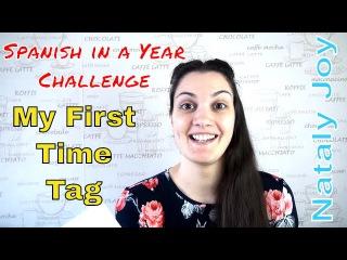 Estudio español 2 / Mi primera vez tag! (Rus sub, Eng sub)